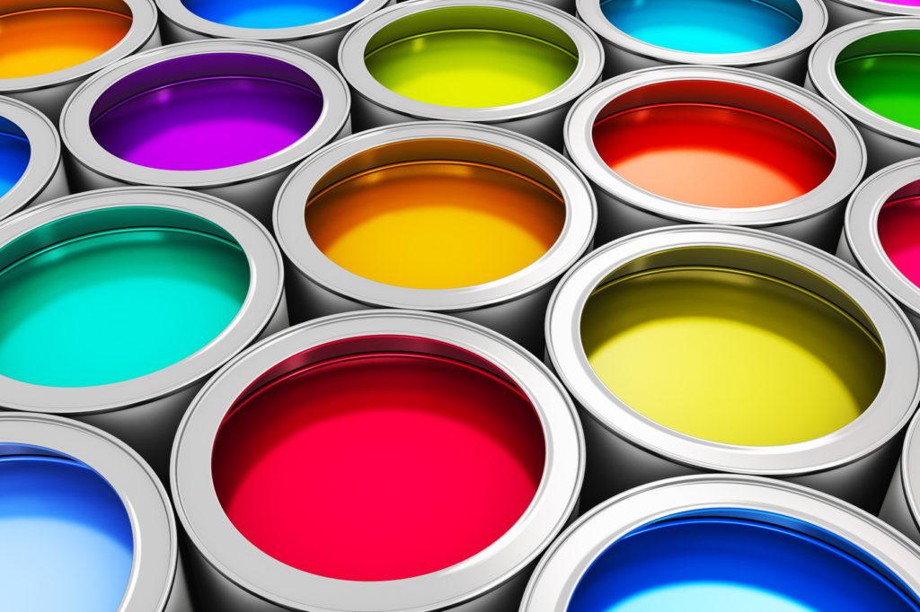peinture couleur pigments