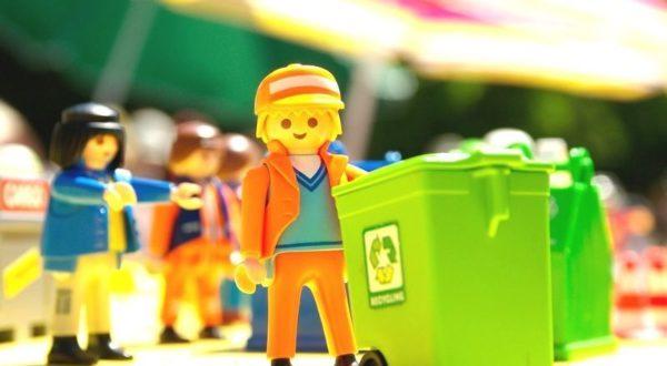 Trier ses déchets : un jeu d'enfant !